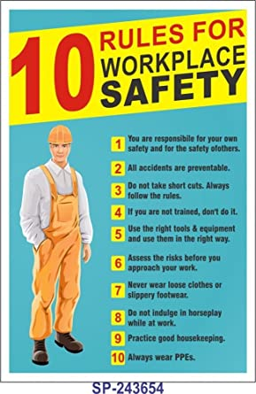 Safety Posters - Lab Safety Poster 2 Dont Used Chipped ...