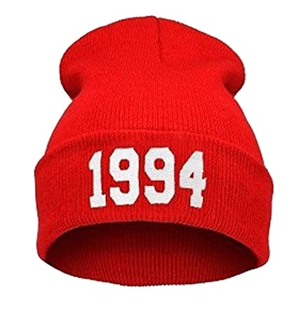 Amazon.com  DHmart Winter Hats for Women Men 1994 Justin Bieber Style Hip  Pop Skullies Beanies Gorro Men Sombreros Hombre Caps B-boy Black Beanie   Kitchen   ... 0eb90c3e4c3a