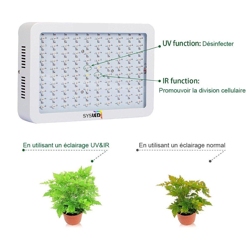 Horticole Led Eclairage 300w Lampe SysledLuminaires Et MUzVqSp