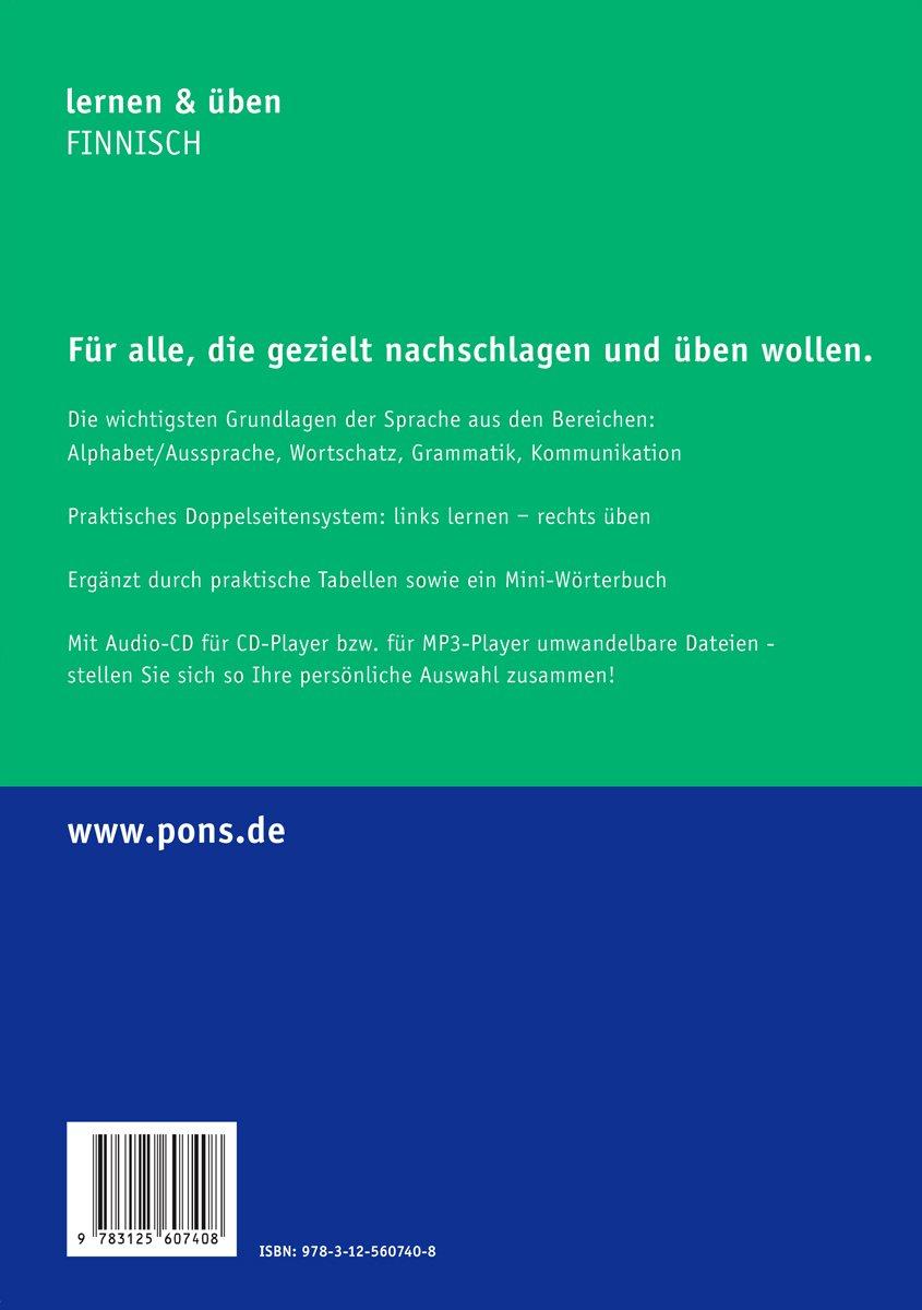 PONS lernen & üben Finnisch: 9783125607408: Amazon.com: Books