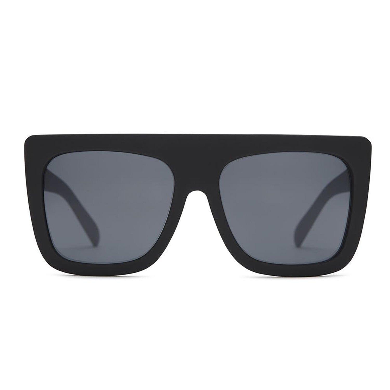 3f6e3fd1ba Quay Australia CAFÉ RACER Women s Sunglasses Oversized Boxy Bold -  Black Smoke