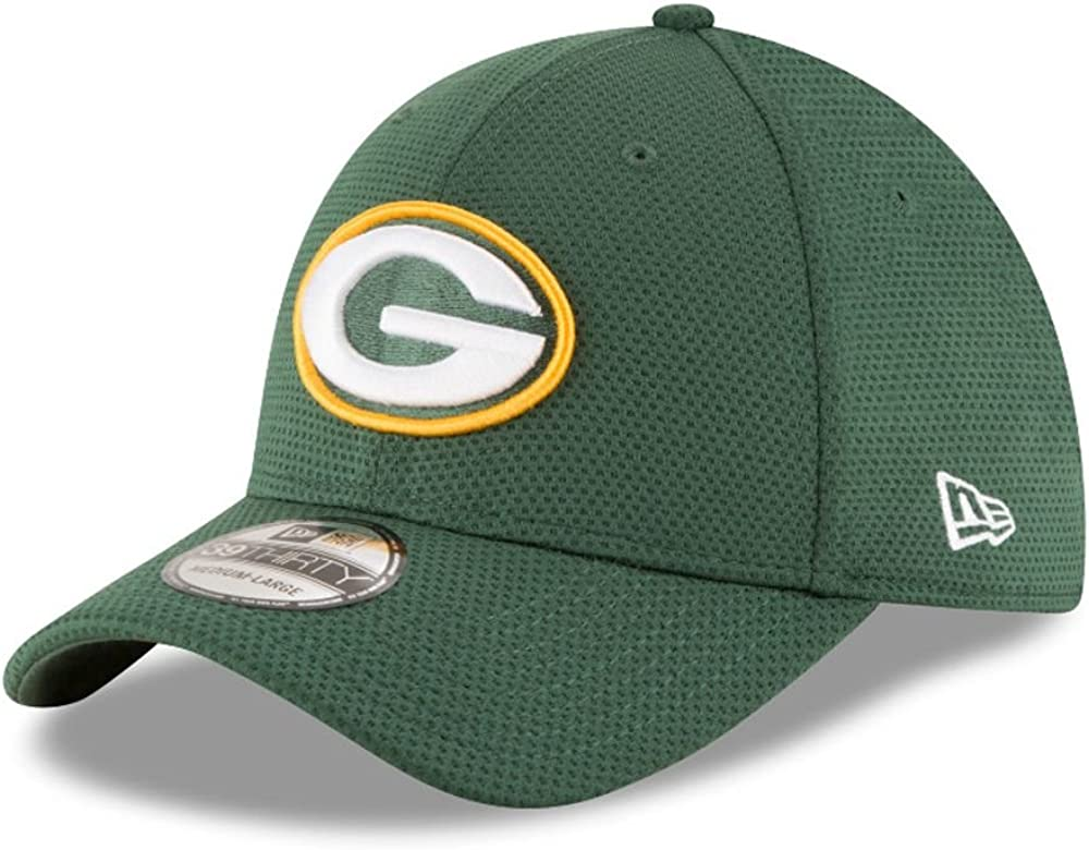 A NEW ERA Sideline Tech 39thirty Grepac OTC Gorra Línea Green Bay ...
