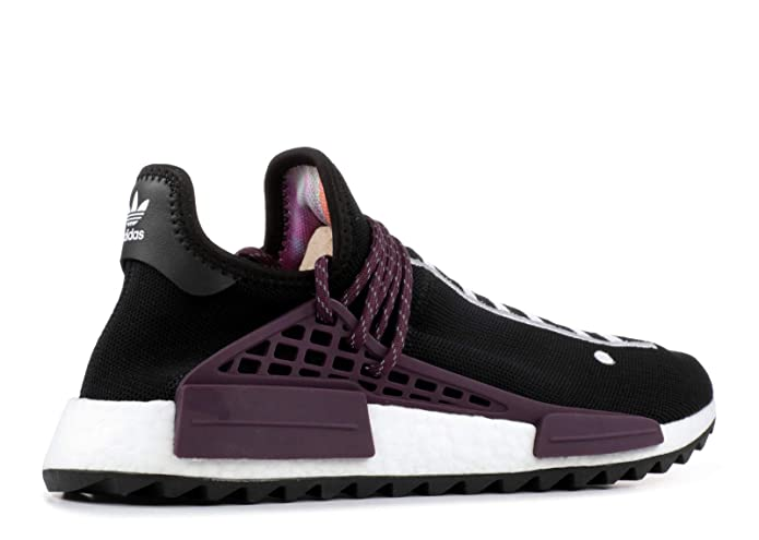new concept f4236 ad15a Amazon.com   adidas Pw Human Race NMD Tr  Equality  - Ac7033 - Size 11  Black, Plum   Shoes