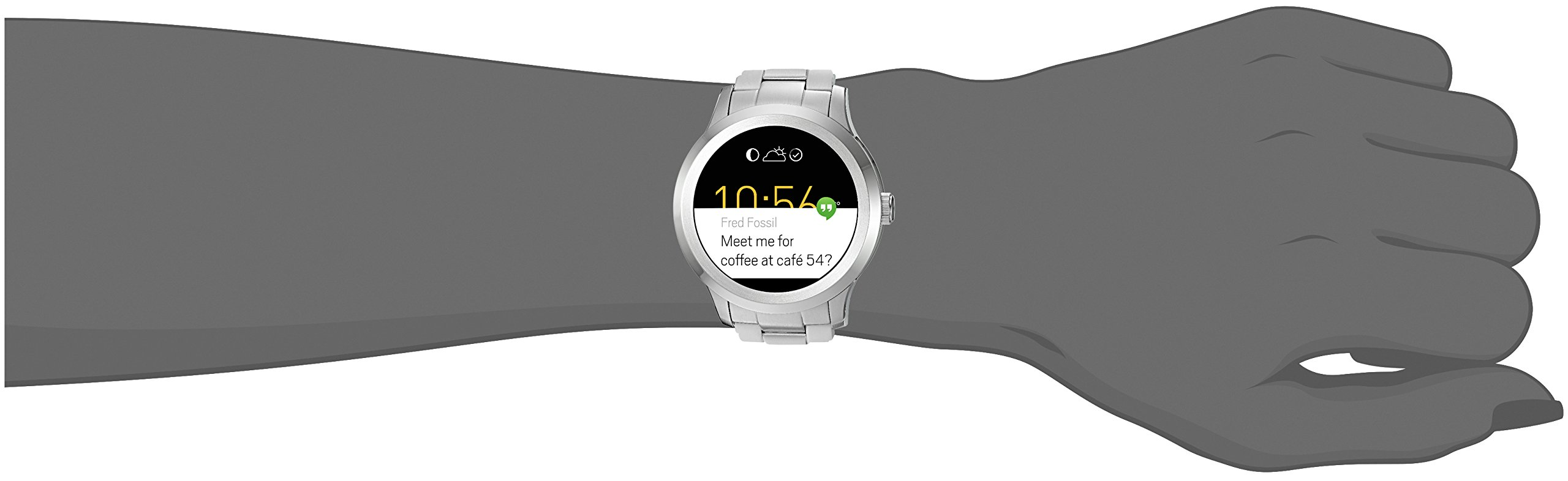 Fossil Q Founder Gen 2 Stainless Steel Touchscreen Smartwatch FTW2116 by Fossil (Image #3)