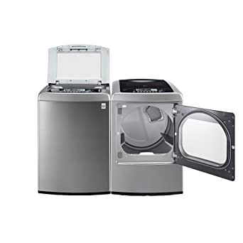 Amazon.com: LG Graphite 4.5 Cu Ft Front Control Top Load Washer ...