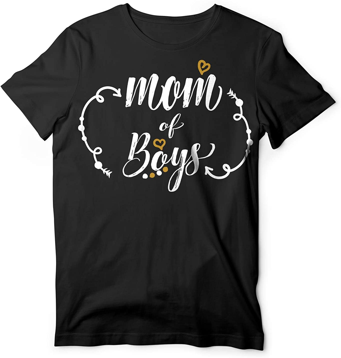 Mom of Boys Mother Tee Shirt