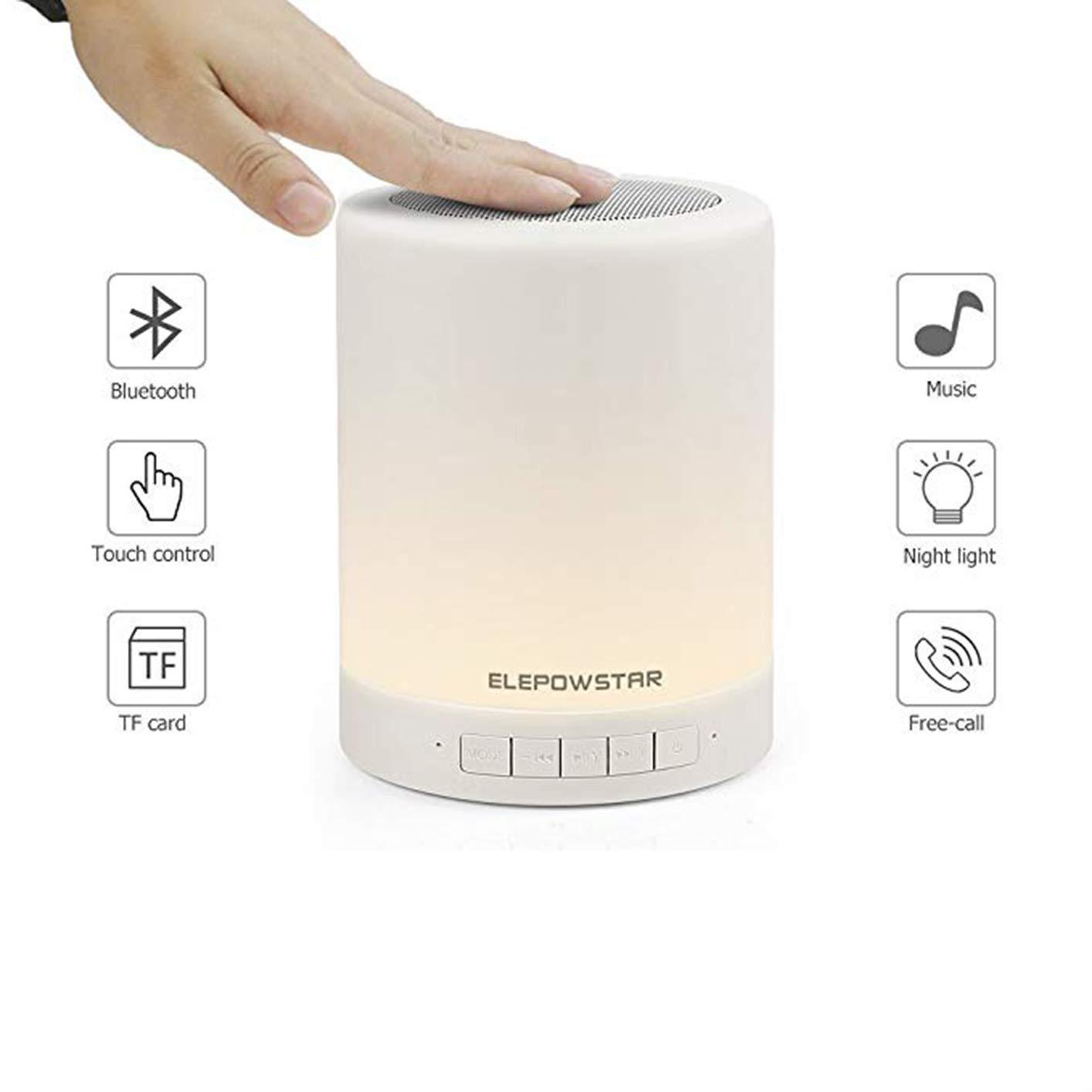Amazon.com: GXFLO Altavoz portátil con luz nocturna ...