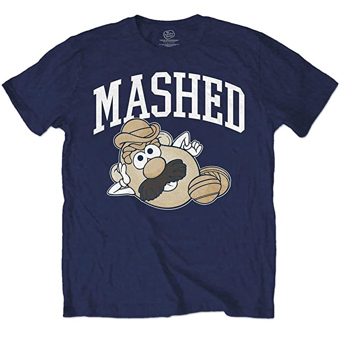 Outlet Latest Collections Mens Mr Potatoe Head Mashed T-Shirt Rockoff Trade Discount For Cheap Cheap Official Site NKBAQ