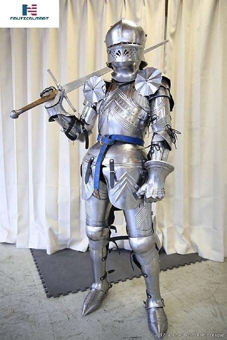Amazon.com: Traje gótico alemán de armadura medieval para ...