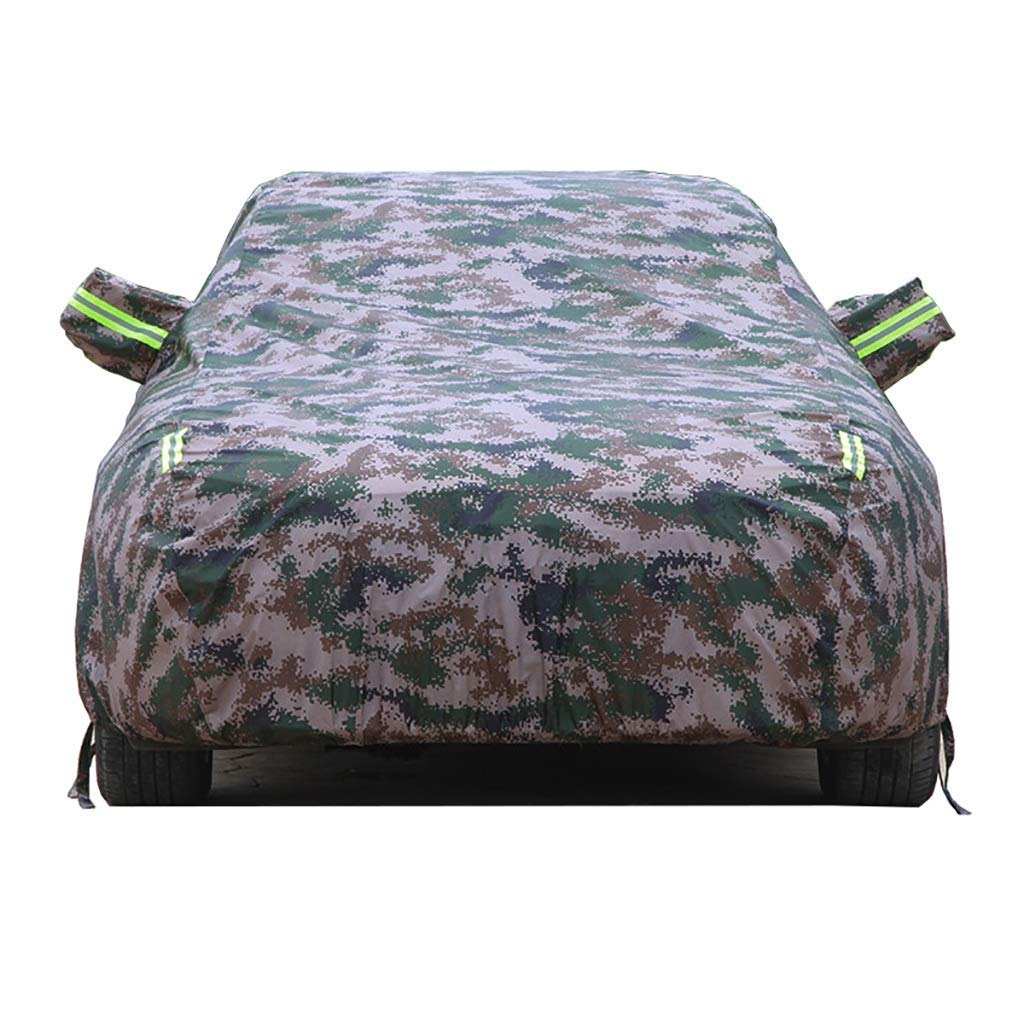 Jsmhh Compatible with Alfa Romeo Stelvio Special Car Cover, Velvet Stretch Waterproof/Sunscreen Insulation/UV/Antifreeze Outdoor Car Cover Car Accessories (Color : Camouflage) by Jsmhh