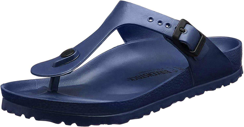 Birkenstock Essentials Unisex Gizeh EVA Sandals Navy 46 R EU (US Men's 13-13.5)