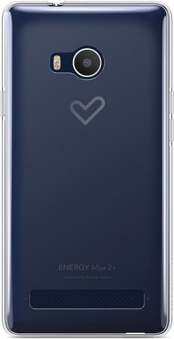Energy Sistem MAX 2+ - Funda para Smartphone MAX 2+, Transparente ...