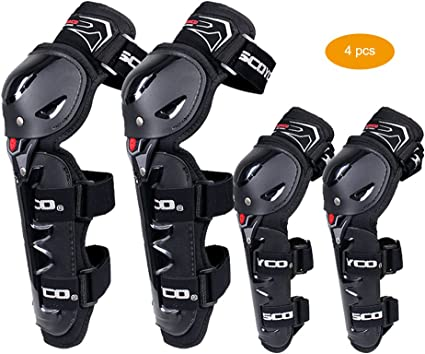 Reinforced Motorcycle Racing Cross-country Ski Proof Knee Pads Protective Guard