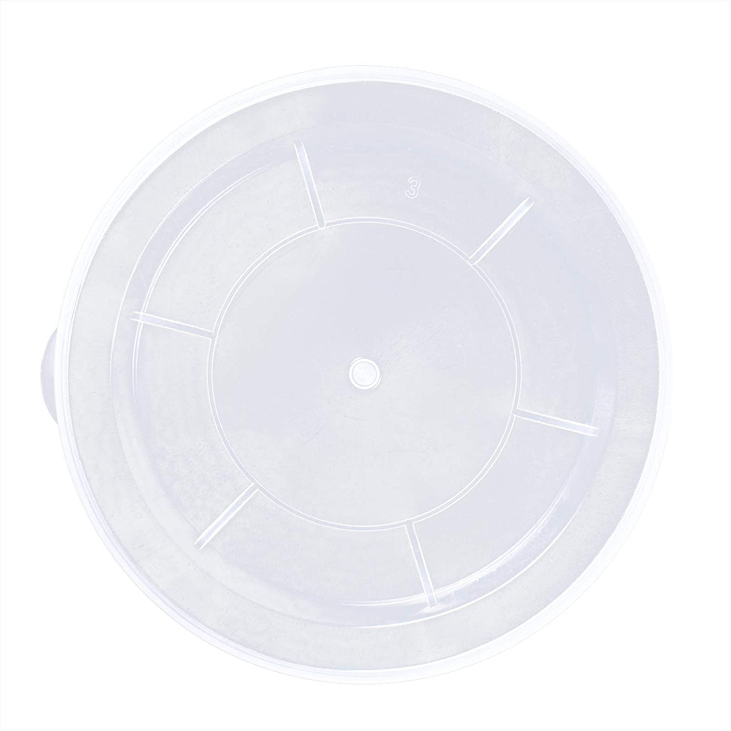 iiniim 100pcs Plastic Tight Seal Lids Reusable Food Can Cover for Dog Cat Can Food
