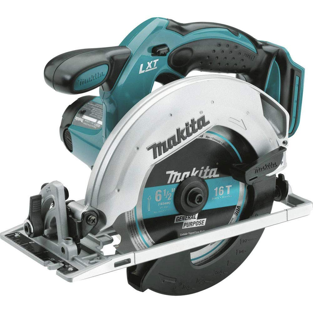 Makita XSS02Z-R 18V Cordless LXT Lithium-Ion 6-1/2 in. Circular Saw (Bare Tool) (Certified Refurbished)