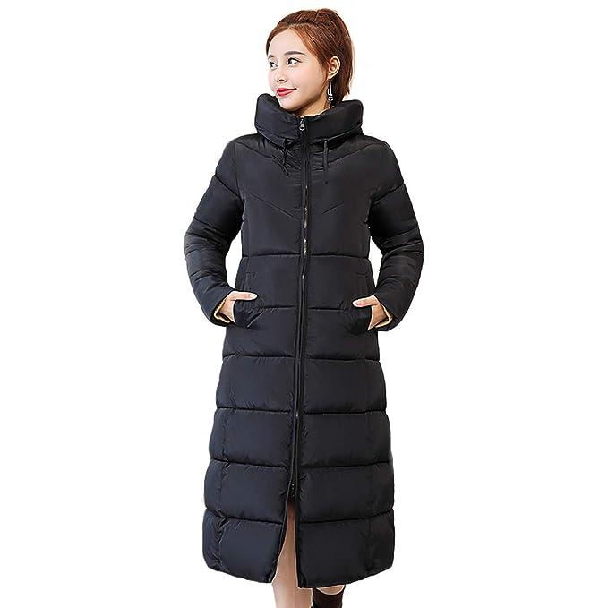 Amazon.com: Lucky Shop - Abrigo de invierno con capucha para ...