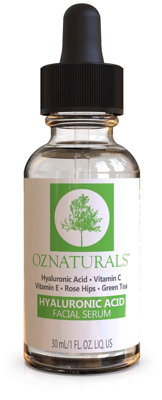 OZ Naturals Best Hyaluronic Acid Serum For Skin - Potent Anti Aging Serum