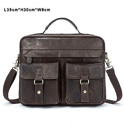5c23f6f65f Amazon.com  Men Bag Crossbody Bags Casual Totes Leather Handbags ...