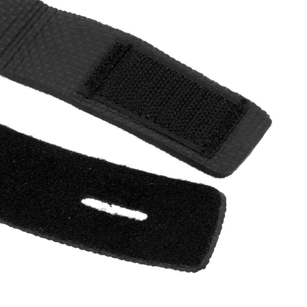 MagiDeal Elastische Klettband 4 Stk Rutenb/änder Klettb/änder im Set Ruten B/änder