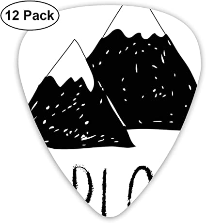 Guitar Picks - Abstract Art Colorful Designs,Explore Lettering ...