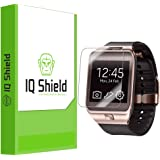Samsung Galaxy Gear 2 Screen Protector, IQ Shield LiQuidSkin (6-Pack) Full Coverage Screen Protector for Samsung Galaxy Gear 2 HD Clear Anti-Bubble Film - with
