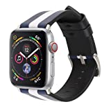 For Apple Watch Series 4 40mm/44mm Straps Leather