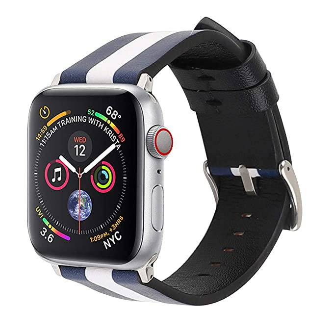 ❀ para Apple Watch 4 44mm, Accesorios de reemplazo de Cuero de Lujo Correas de Pulsera Absolute: Amazon.es: Ropa y accesorios