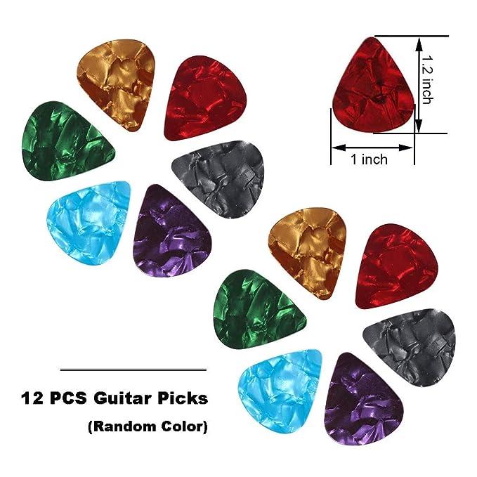 All-in 1 51 PCS Juego de herramientas de cambio de guitarra ...