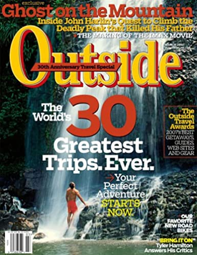 Outside Print Kindle Amazoncom Magazines - Outside magazines travel awards 2015