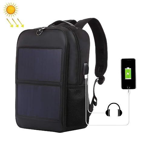 Amazon.com: Haweel - Mochila solar de 14 W con panel solar ...