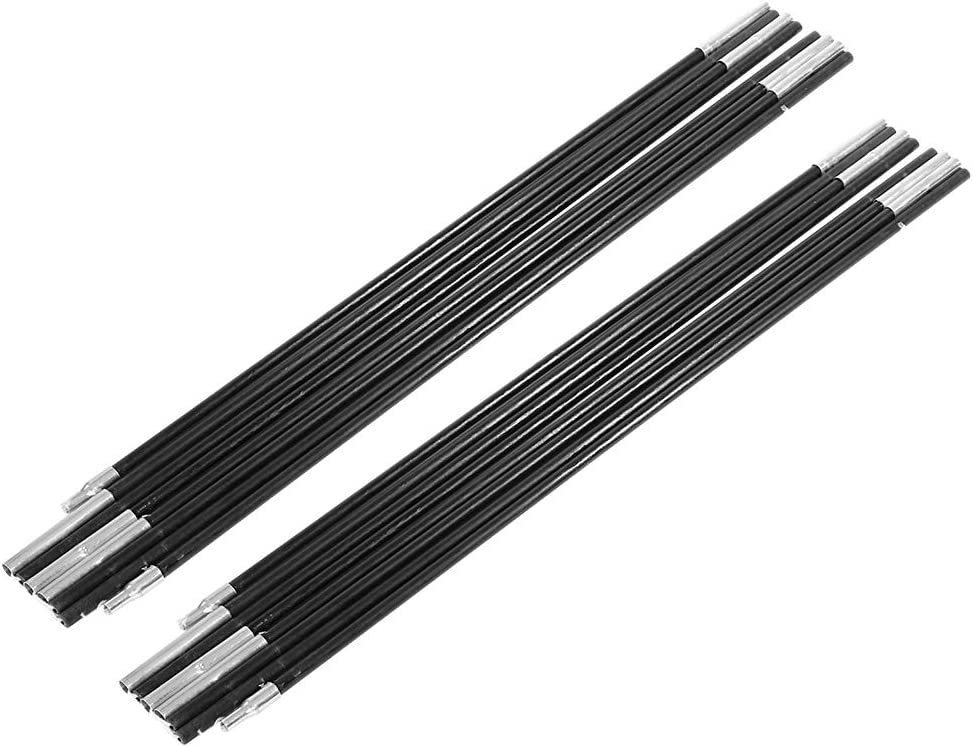 Mat de bache daluminium noorsk/® Barres de Tente t/élescopiques Lot de 2 tarp Poles