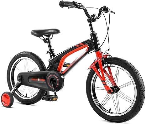 LPYMX Bicicleta para niños 14 Pulgadas niño niño Bicicleta niño ...