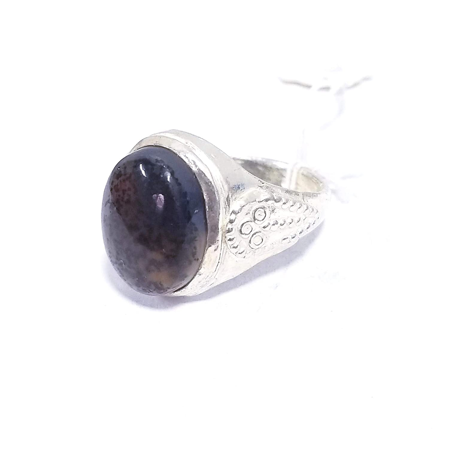 Agate 925 Sterling Silver Antique Natural dendritic Gemstone fine Ring 925 Sterling Silver Man Ring Antique Natural red Agate Stone Middle Eastern Ring konoz Mens Ring Mens Jewelry Man Ring