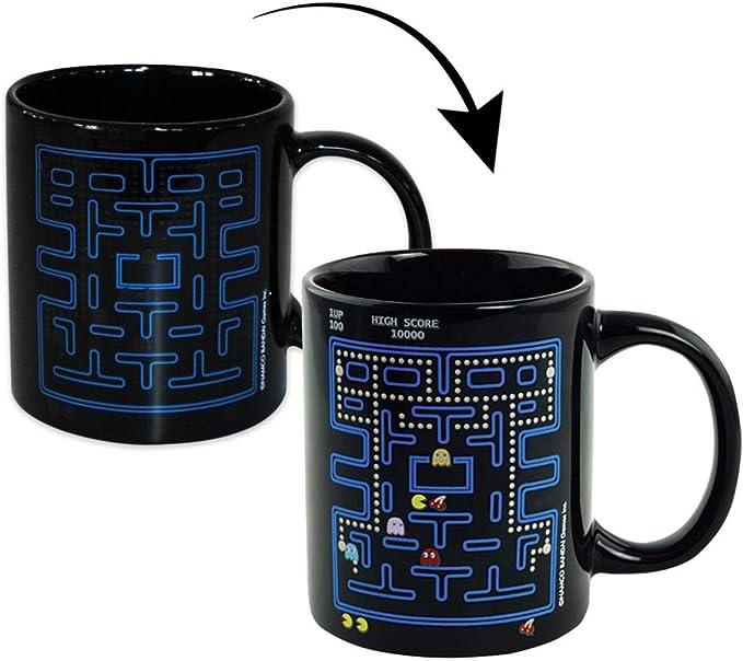 Amazon.com: Pac-Man Heat Changing Ceramic Coffee Mug: Toys & Games