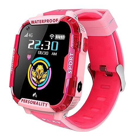 Lging 4G Reloj Inteligente For Niños GPS Rastreador De ...