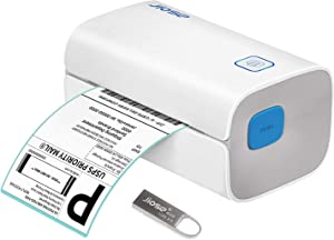 Jiose 4x6 Shipping Label Printer, Thermal Printer for Shipping Labels, Windows & Mac Compatible Label Printer, Compatible with UPS, Amazon, Ebay, Shopify, Etsy, Shipstation, etc