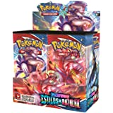 Box 36 Booster Cards Pokémon Espada e Escudo 5 Estilos de Batalha Copag cards cartas