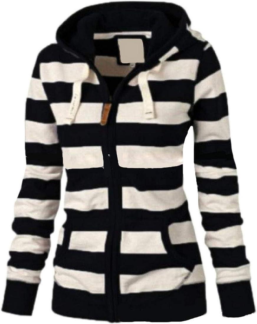 Winwinus Men Casual Long-Sleeve Plus Size Contrast Basic Jacket Sweatshirt