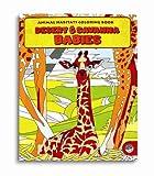 Animal Habitats Desert & Savanna Babies Colouring Book