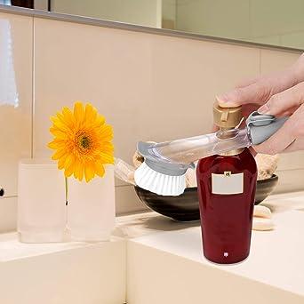 M/áquina de expreso herramienta de caf/é para Barista Home Kitchen recto+curvado Fransande Juego de cepillos de limpieza de caf/é