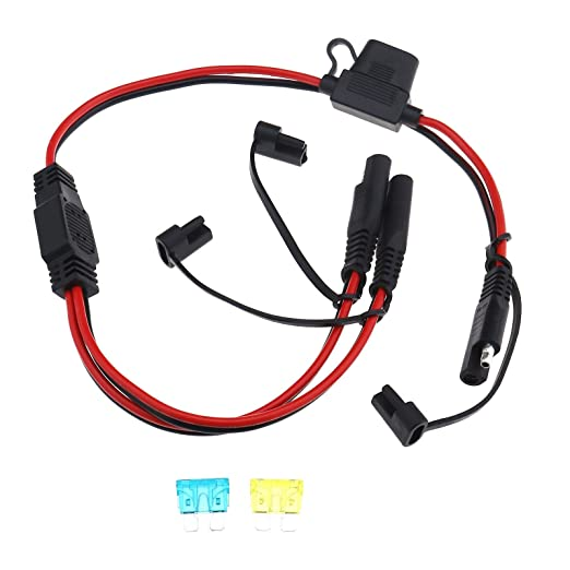 YINETTECH - Cable alargador de conexión rápida SAE a SAE (12 V, 16 ...
