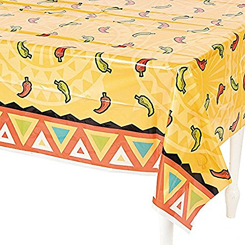 Southwest Chilies Tablecloth  Plastic