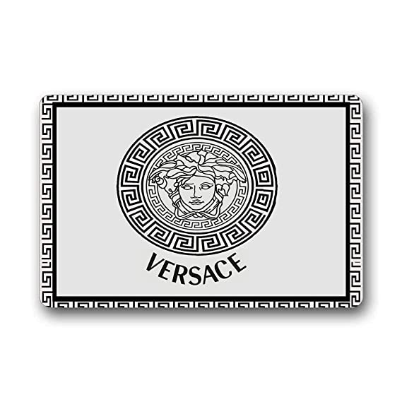 Review Versace Logo Gold Home