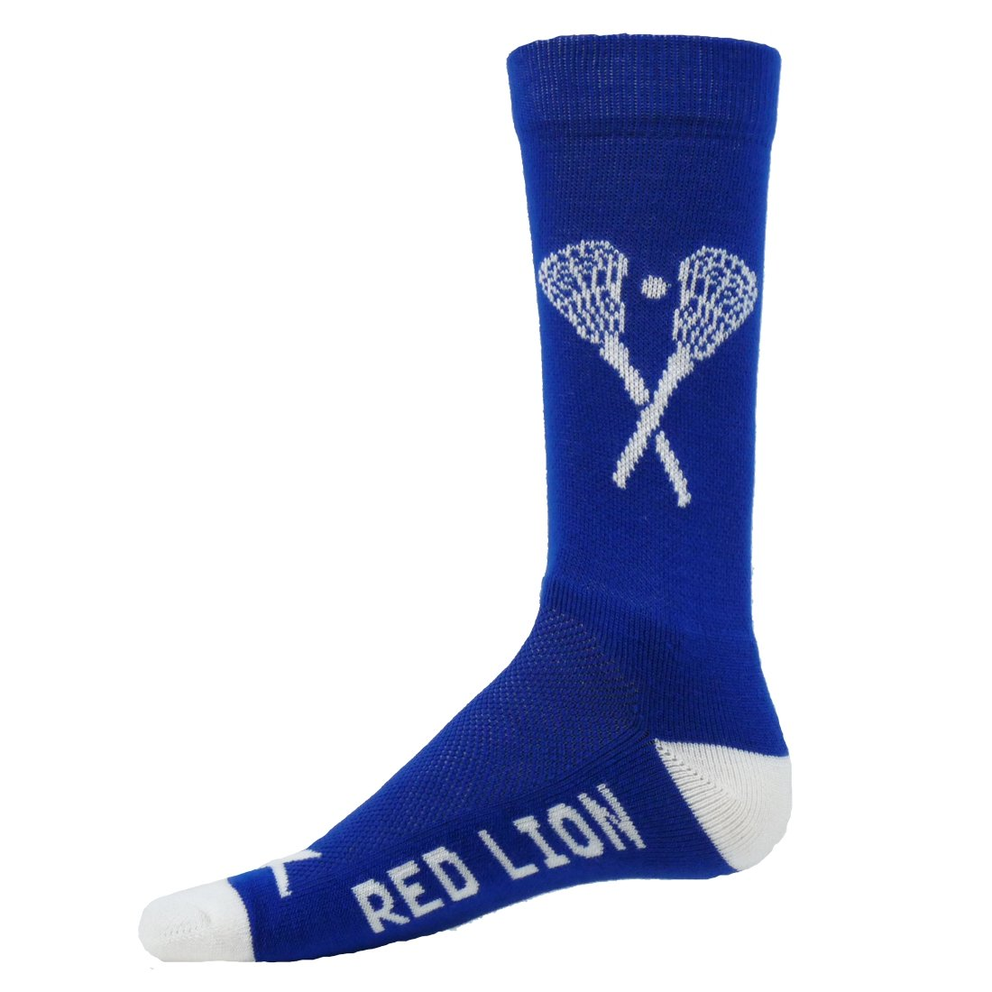 Red Lion X Factor Lacrosse Socks ( Royal / White - Medium / Large ) 717332UT