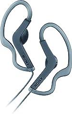 Sony MDR-AS210/B Sport In-ear Headphones, Black