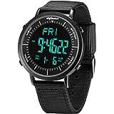 Digital Sports Watches, shifenmei Military Cool Waterproof Mens Digital Watch Alarm Stopwatch Countdown Date Wrist Watches wi