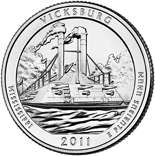 2011 D Vicksburg National Park Quarter Choice Uncirculated