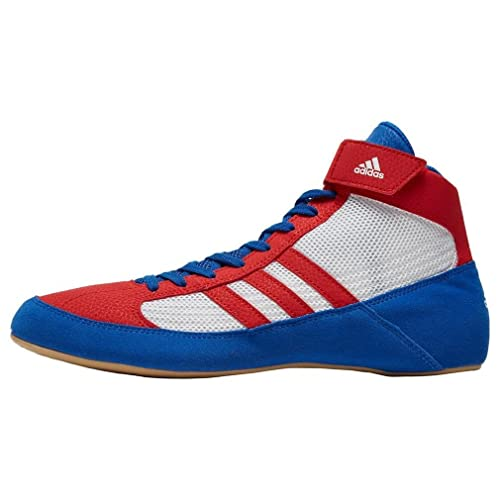 adidas - Zapatillas de boxeo para hombre azul azul/blanco/rojo