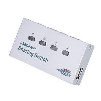 Amazon.com: Mugast USB 1.1/2.0 interruptor de compartimiento ...