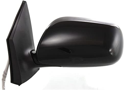 Parts Link # Dependable Direct Left Drivers Side Black Heated Manual Folding Door Mirror for Toyota Corolla 2009 2010 2011 2012 2013 TO1320247